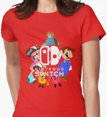 Nintendo Switch Women's Fitted T-Shirt