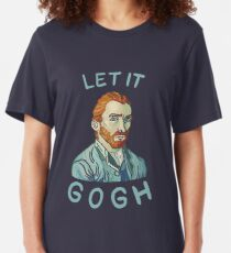 Let It Gogh Slim Fit T-Shirt