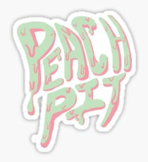Pfirsichgrube Sticker