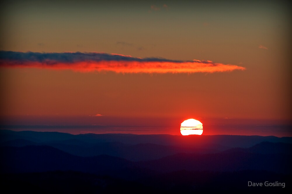 Last Sunset by Dave  Gosling Photography