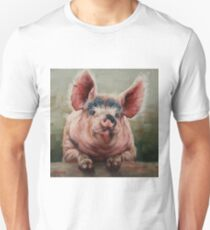 Friendly Pig Unisex T-Shirt
