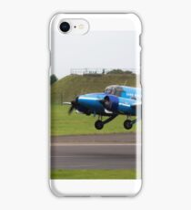 Avro Anson Nineteen During Take Off iPhone Case/Skin