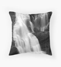Bald River Falls III Throw Pillow