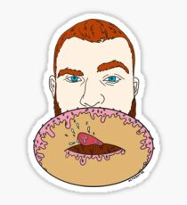 Donut Hole Sticker
