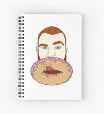 Donut Hole Spiral Notebook