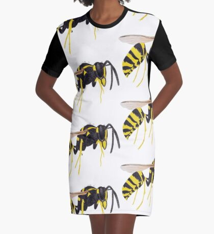 Paper Wasp Graphic T-Shirt Dress