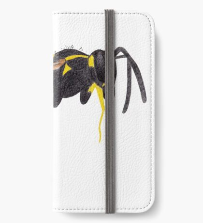 Paper Wasp iPhone Wallet