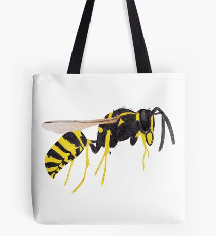 Paper Wasp Tote Bag