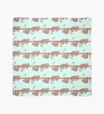 Baby Sloths hanging on Tree Pattern Scarf