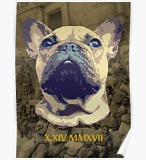 Shamus the Famous Frenchie Poster