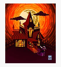Haunted House WITHOUT WORDS Photographic Print