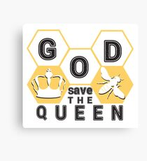 god save the queen_2 Canvas Print