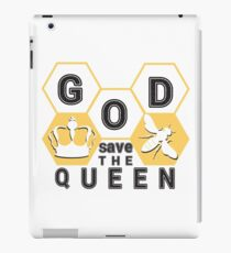 god save the queen_2 iPad Case/Skin