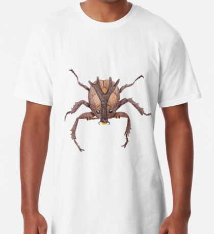 Japanese Rrhinoceros Beetle Long T-Shirt