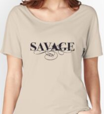 Savage - Text Version Women's Relaxed Fit T-Shirt