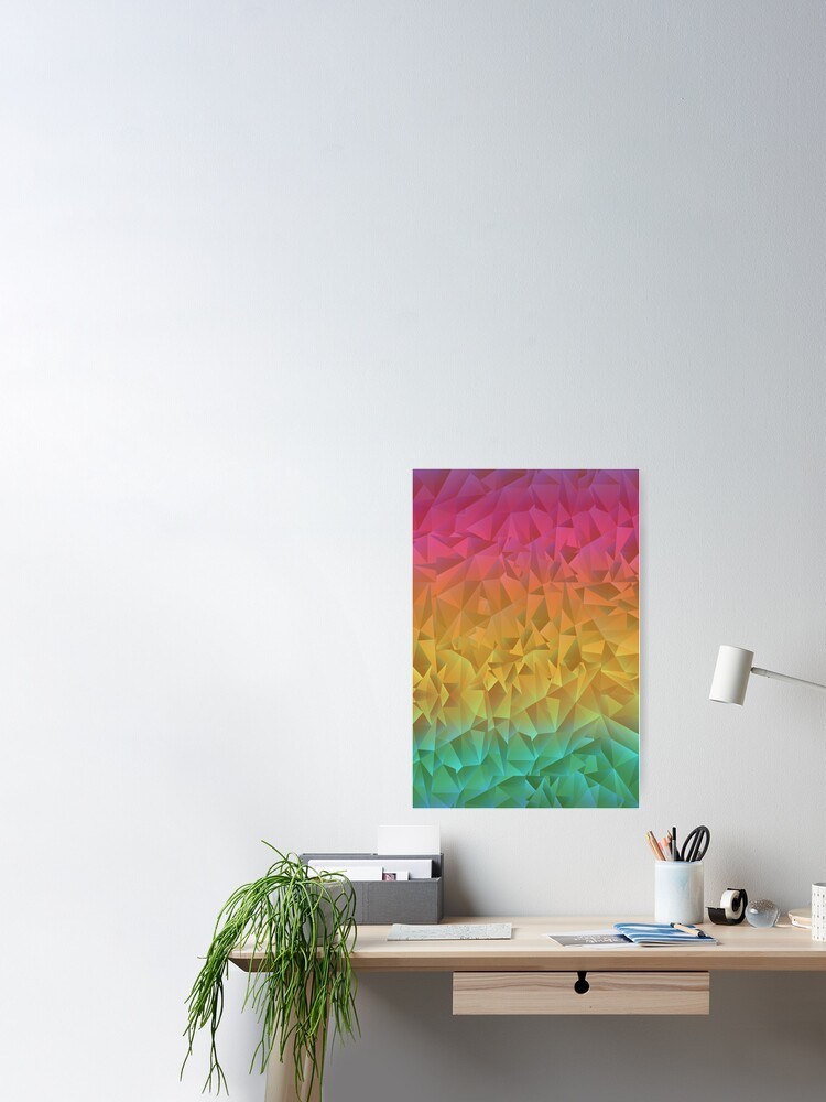 Alternate view of Rainbow Crystal Shatter Poster