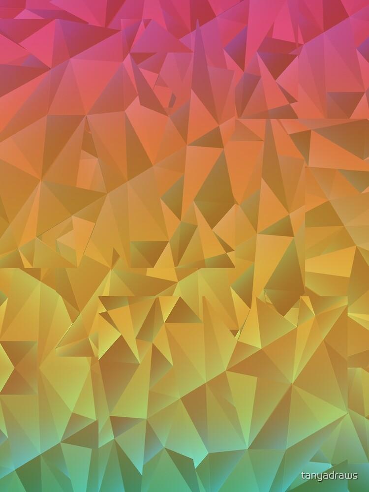 Rainbow Crystal Shatter by tanyadraws
