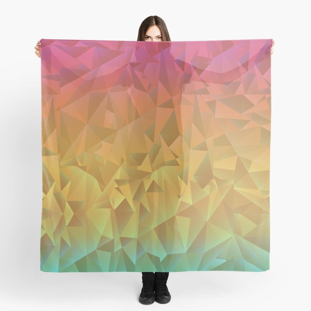 Rainbow Crystal Shatter Scarf