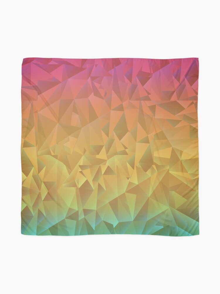 Alternate view of Rainbow Crystal Shatter Scarf