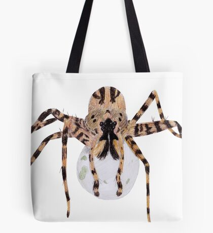 Spider with an Egg Sack Tote Bag