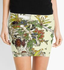 Bones and Botany Mini Skirt