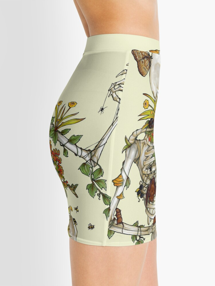 Alternate view of Bones and Botany Mini Skirt