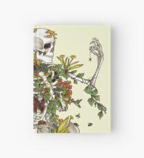 Knochen und Botanik Notizbuch