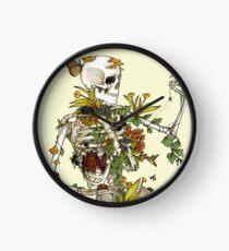 Reloj Huesos y botánica