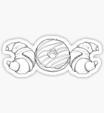 Triple Moon Carb Goddess - Wiccan Symbol Sticker
