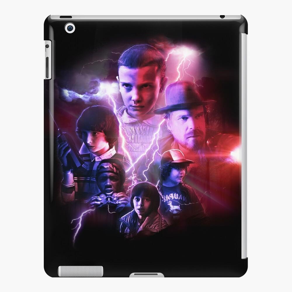 Fremde Dinge - Filmplakat-Collage iPad-Hülle & Skin