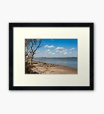 View from Big Talbot Island Beach Framed Print