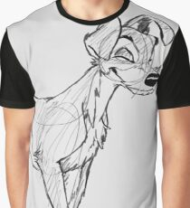 Tramp sketch Graphic T-Shirt