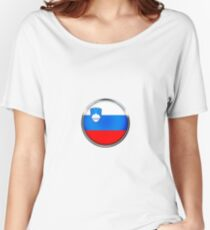 Slovénie Women's Relaxed Fit T-Shirt