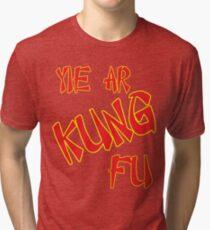 Yie Ar Kung-Fu Tri-blend T-Shirt