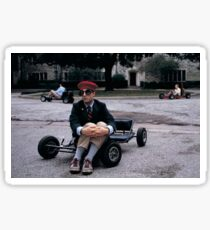 Rushmore Go Kart Sticker