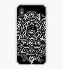 Eye of God Flower Mandala iPhone Case