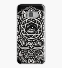 Eye of God Flower Mandala Samsung Galaxy Case/Skin