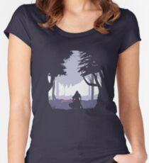 Kylo Ren - Minimal Women's Fitted Scoop T-Shirt
