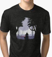 Kylo Ren - Minimal Tri-blend T-Shirt