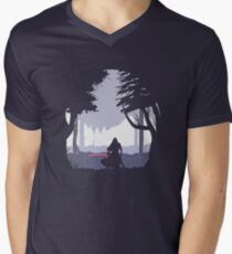 Kylo Ren - Minimal Men's V-Neck T-Shirt