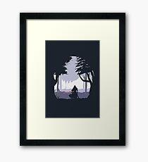 Kylo Ren - Minimal Framed Print