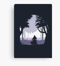 Kylo Ren - Minimal Canvas Print