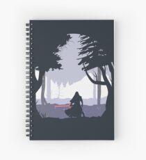 Kylo Ren - Minimal Spiral Notebook