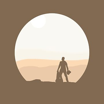 Finn on Jakku - Minimal by sqrtdude