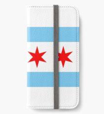 Vinilo o funda para iPhone Bandera de Chicago