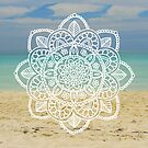 Beach Mandala by julieerindesign