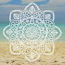 Beach Mandala by julieerindesign