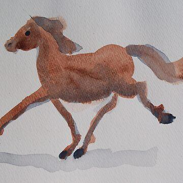 Galloping Horse by NANCYMAUERMAN