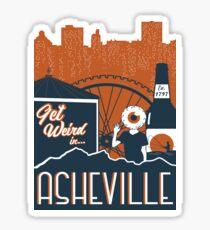 Asheville Sticker