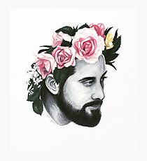 Flower Crown Avi Photographic Print